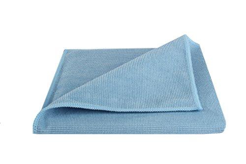 bellanet Microfaser Profi-Reinigungstücher | ultradichte, feine und weiche Mikrofasern | qualitative Mikrofasertücher für Haushalt, Küche, Bad, Auto | 1 Stück (blau)