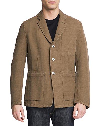 nudie-jeans-uomo-blazer-en-lin-walker-beige-pour-homme-