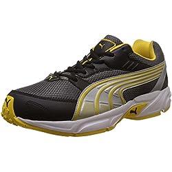 Puma Men's Pluto DP Dark Shadow-Dandelion-Silver Running Shoes - 8 UK/India (42 EU)