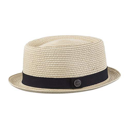 CHILLOUTS Portland Hat L/XL Natur | Herren Hut | Strohhut verstellbar