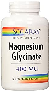 Solaray Magnesium Glycinate (400mg) 120 vcaps