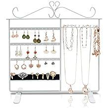Verkaufsständer Ohrringsständer Ohrstecker Ständer mit 4 Kränzen Metall