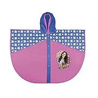 PERLETTI 99133 Raincoat Poncho Soy Luna, Multi Colour, One Size