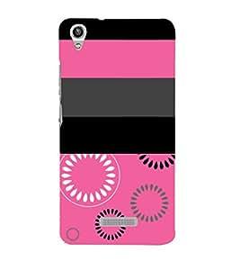 Rangoli Pink Girls Design 3D Hard Polycarbonate Designer Back Case Cover for Lava Iris Pixel V1