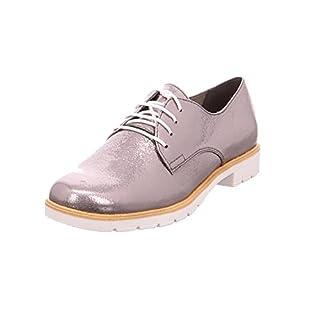 Tamaris Damen Schnürschuhe Silber, Schuhgröße:EUR 37