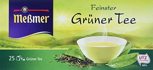 Meßmer Grüner Tee, 25 x 1.75 g Schale