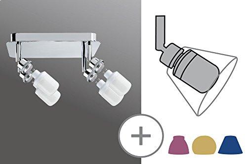 Paulmann 600.93 Interior Apto para uso en interior GZ10 Surfaced lighting spot 9W B Cromo punto de iluminación - Punto de luz (Surfaced lighting spot, GZ10, 4 bombilla(s), 9 W, Cromo)