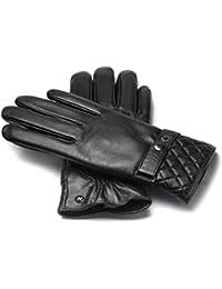 2665794dac9703 napo gloves napoMODERN - Touchscreen Lederhandschuhe für elegante Herren  aus Lammnappa Leder in…