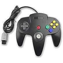 Childhood Controller Gamepad retro clásico de la palanca de mando Sistema N64 N64 Estilo negro