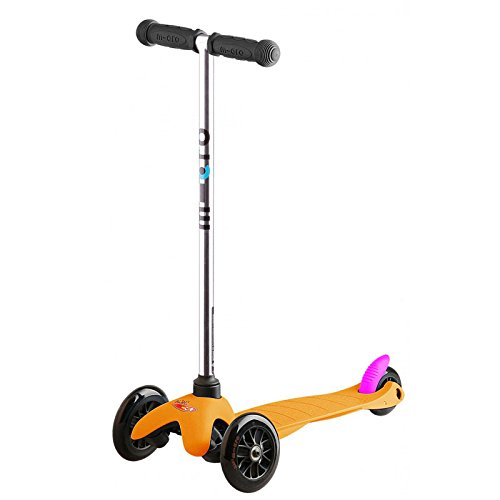 Micro Mini Neon Orange Kinder-Roller
