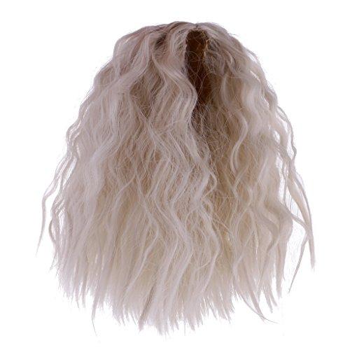 Sharplace Schöne Puppen Perücke Haar Haarteil Für 1/6 Blythe Puppen - Farbe 11 (Blythe-puppe, Kopf)