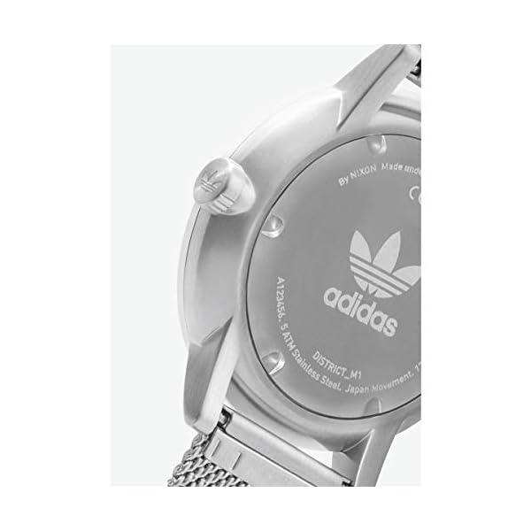 Adidas Reloj Analógico para Hombre de Cuarzo con Correa en Acero Inoxidable