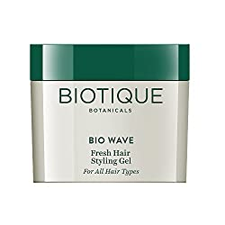 Biotique Bio Wave Fresh Body Styling Gel Wet Set for All Hair Types, 50g