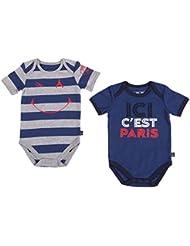 2 x body PSG - Collection officielle Paris Saint Germain - Taille bébé garçon