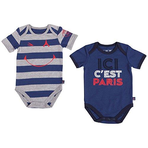 c08fab0583ffb3 PARIS SAINT GERMAIN 2 x Body PSG - Collection Officielle Taille bébé garçon  24 Mois