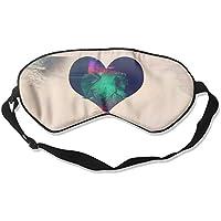 Sleep Eye Mask Heart Glitch Lightweight Soft Blindfold Adjustable Head Strap Eyeshade Travel Eyepatch E7 preisvergleich bei billige-tabletten.eu