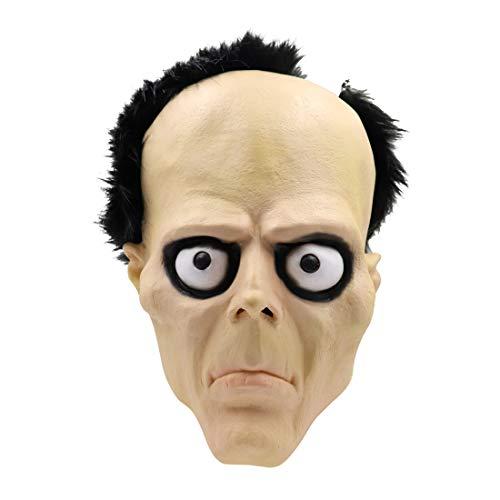 Kostüm Beängstigend Männer - Foroner Halloween Phantasie Beängstigend Kopf Maske Latex Mann Horror Masken Party Cosplay (Wie Gezeigt)
