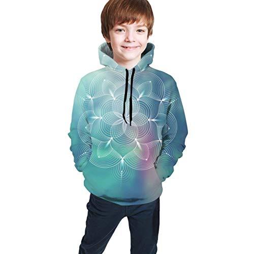 NZ Vorlage von Banner, Querformat 3D-Druck Sweatshirts Langarm Baumwolle Pullover mit Tasche für Teen Boys Girls