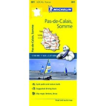 Michelin FRANCE: Pas-de-Calais, Somme MH301 1:150K (Maps/Local (Michelin)) by Michelin Travel & Lifestyle (2016-04-07)