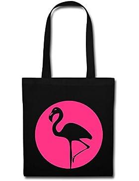 Spreadshirt Flamingo Stoffbeutel