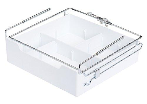 Kitchencraft - cassetto, facile da aggiungere sotto mensole, organiser, 29,5x 28cm.