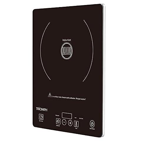 Triomph ETF1525 Plaque à Induction Posable avec 1 Foyer Noir 28 x 35 x 4 cm