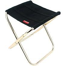 Al aire libre plegable silla camping Silla de pesca de aluminio barbacoa taburete plegable taburete