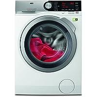 AEG L9FE86495 Frontlader Waschmaschine/Energieklasse A+++ (65 kWh/Jahr)/9 kg/kein Verblassen/Waschmaschine mit Mengenautomatik, Knitterschutz und Ionentauscher/Waschautomat/weiß