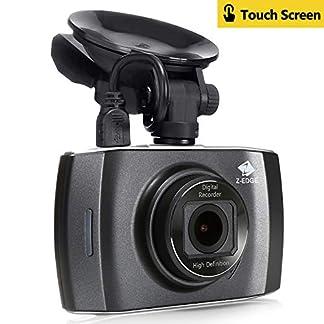 Z-Edge-GPS-Dashcam-Autokamera-Full-HD-1080P-30-Zoll-Touchscreen-Ambarella-A12-Prozessor-Loop-Aufnahme-HDR-G-Sensor-Bewegungserkennung-Parkberwachung-inkl-Kfz-Ladegert