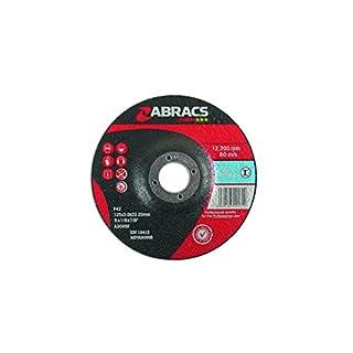 Connect Consumables 32051Abracs DPC Metall Trennscheiben, 125mm x 3.0mm, 10Stück