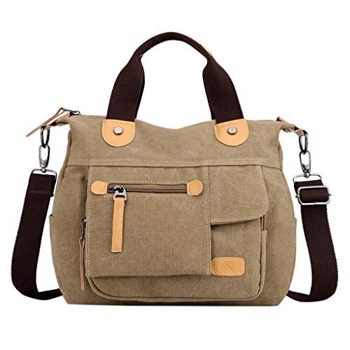 Floweworld Woemns leinwand umhängetasche Mode multifunktions große kapazität Handtasche umhängetasche Reisetasche -