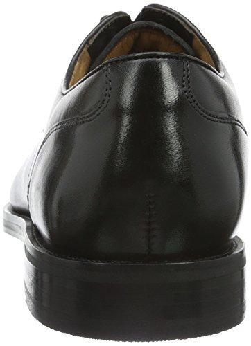 Clarks Originals Herren Coling Walk Derby Schwarz (Black Leather)