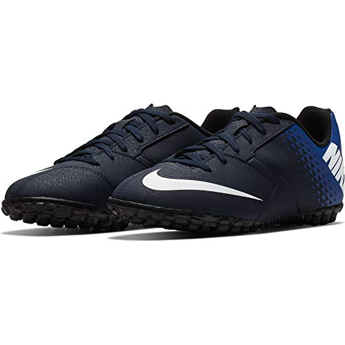sports shoes f06bd d0cf2 NIKE Bombax TF Jr, Chaussures de Football garçon, Multicolore  (ObsidianWhite-