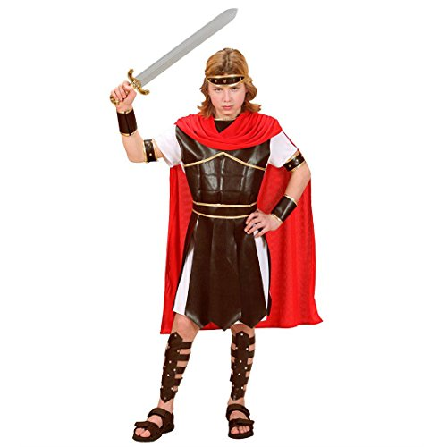 Herkules Kinder Kostüm - NET TOYS Kinder Hercules Kostüm Römerkostüm S 128 cm 5-7 Jahre Herkules Kostüm Gladiatorenkostüm Antike Verkleidung Römer Kämpfer Krieger