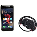Captcha X1 4G Dual Sim Android Smartphone With Wireless Mini 503 Stereo Bluetooth Stereo Headset For Mi Note 4 & One Plus 6 Mobile