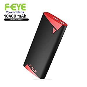 FNS F-EYE Power Bank 10400mAh Battery Charger with LED Flashlight for Universal Smartphones