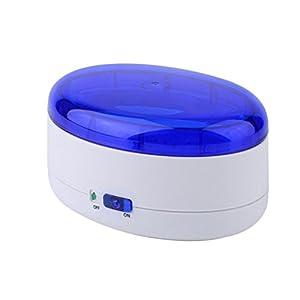 OUNONA Ultraschallreinigungsgerät für Brillen Schmuck Uhren Ringe und Münzen