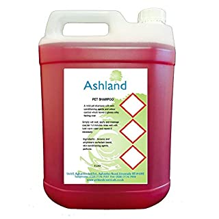 Ashland Fresh Cherry Concentrated Pet Shampoo Grooming 5L