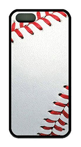 Baseball Muster Thema Fall für iPhone 44S Gummi schwarz