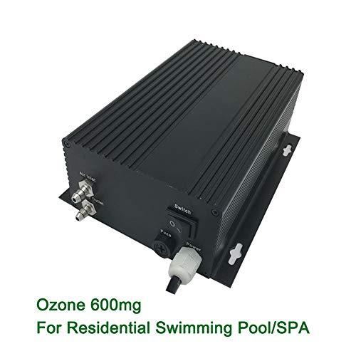 GRASSAIR Spa/Piscine 600Mg / H De Décharge De Couronne De Décharge De Couronne D'épurateur De Générateurs D'ozone Commerciaux D'ozonateur