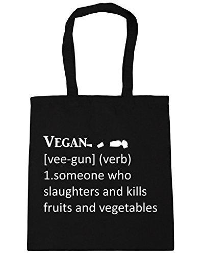 hippowarehouse-funny-vegan-definition-tote-shopping-gym-beach-bag-42cm-x38cm-10-litres