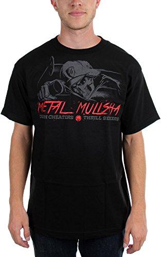 Metal Mulisha T-Shirt / Top / Tee DEATH CHEATERS Schwarz Black
