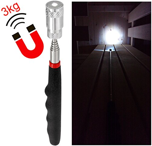 LED-Telescopic-Torch-with-Magnet-with-3xLR44-batteries--Super-Bright--Extendable-to-80-cm--Magnetic-Pull-Force-32KG