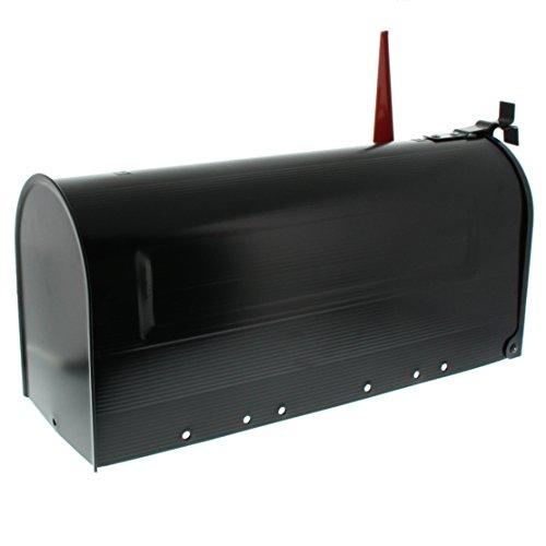 BURG-WÄCHTER, US-Mailbox mit schwenkbarer Fahne, Aluminium, 891 S, Schwarz - 2