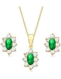 marchi riconosciuti stile squisito online Amazon.it: Oro giallo - Parure di gioielli / Donna: Gioielli