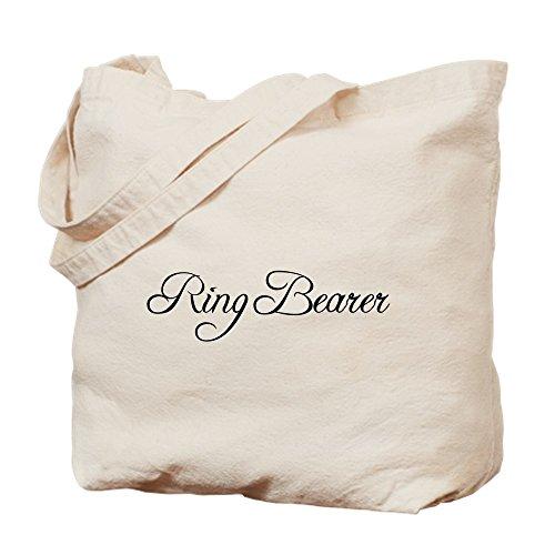 CafePress Ringträger-Tragetasche, formell, canvas, khaki, S