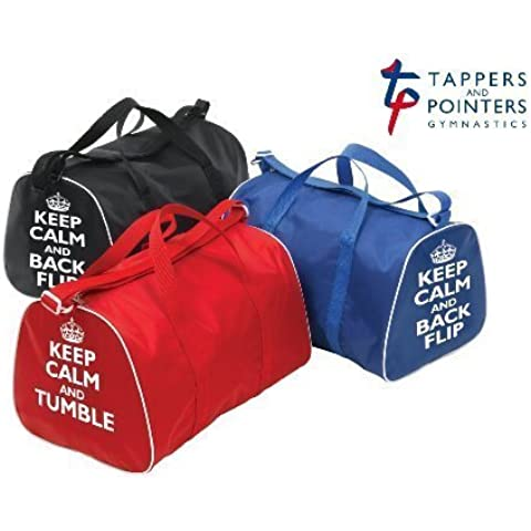KEEP CALM AND TUMBLE or BACKFLIP Holdall