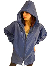 Campbell Cooper New Raincoat Mac Kagoule Jacket Hooded