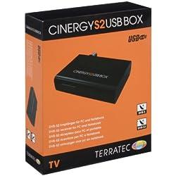 Terratec Cinergy S2 USB BOX DVB-S, DVB-S2 TV- und Radio-Tuner, Der platzsparende Satelliten-Receiver für digitales Fernsehen auf Ihrem Notebook
