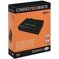 Terratec CINERGY S2 USB BOX - Sintonizador de TV (DVB-S, DVB-T, USB, 88g, 1 MB, 2.0 GHz Intel/AMD, USB) Negro